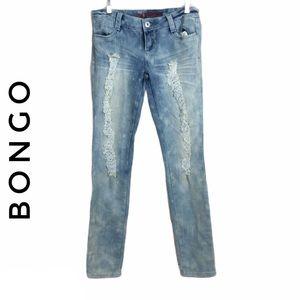 🛍4x$20 BONGO distressed skinny jeans size 7